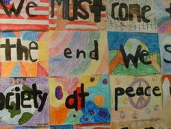 MLK-inspired student work