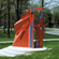 Marcia Wood, Élan Muse, 1990, Painted steel