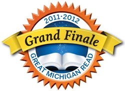 Great Michigan Read Finale Logo